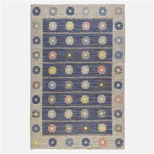 Judith Johansson, flatweave carpet
