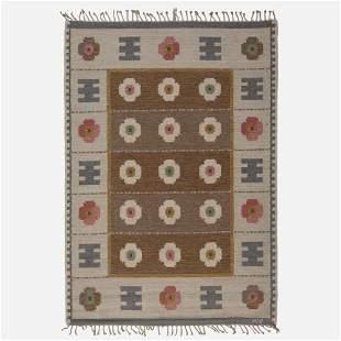 Alice Walleback, Flatweave carpet