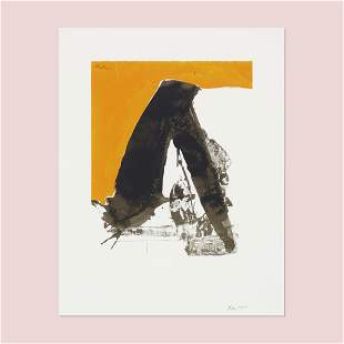 Robert Motherwell, Untitled (from the Basque Suite)