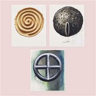 Edward Henderson, Untitled A, B, C (three works)
