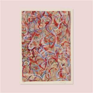 Mark Tobey, Flame of Colors