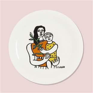 After Fernand Leger, Plate