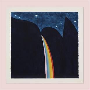 Carol Summers, Rainbow Falls at Night