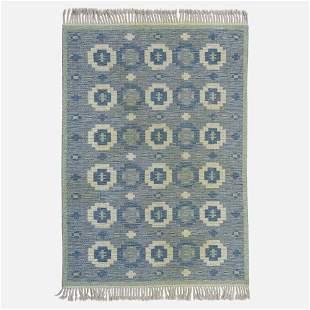 Swedish, Reversible flatweave carpet