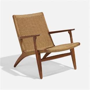 Hans J. Wegner, Lounge chair, model CH 25