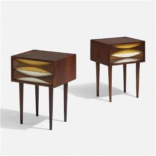 Niels Clausen, Nightstands, pair