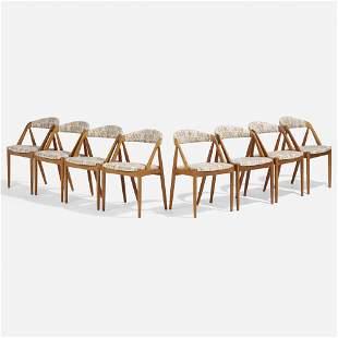 Kai Kristiansen, Dining chairs, set of eight