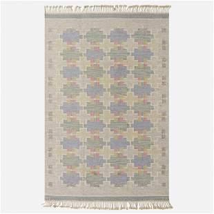 Maj Svanstrom, Flatweave carpet