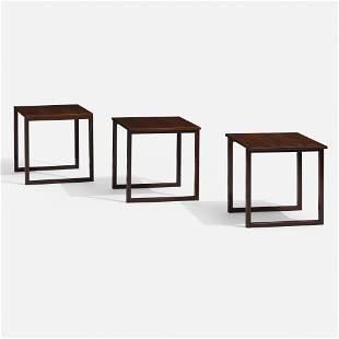 Kai Kristiansen, Nesting tables model 133, set of three