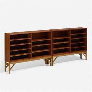 Borge Mogensen, Bookcases, pair