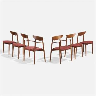 Harry Ostergaard, Dining chairs, set of six