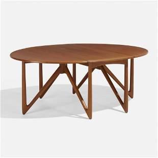 Niels Koefoed, Oval Klap dining table
