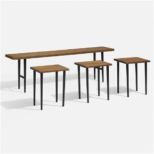 Kurt Ostervig, Nesting tables model 200, set of four