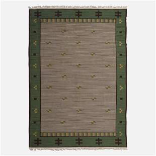 Sodra Kalmar Lans Hemslojd, Flatweave carpet