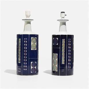 Fog & Morup, Table lamps, pair