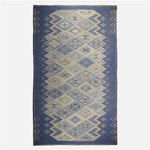 Sofia Widen, Rare flatweave carpet