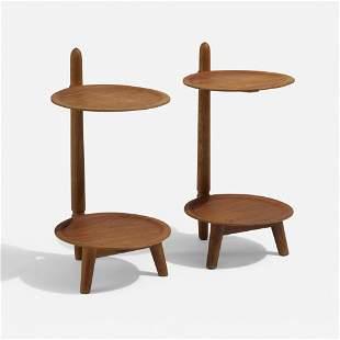 Edmund Jorgensen, Occasional tables, pair
