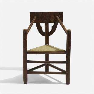 Swedish, Monk chair