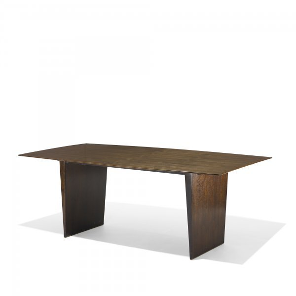 114: Edward Wormley dining table, model 5460