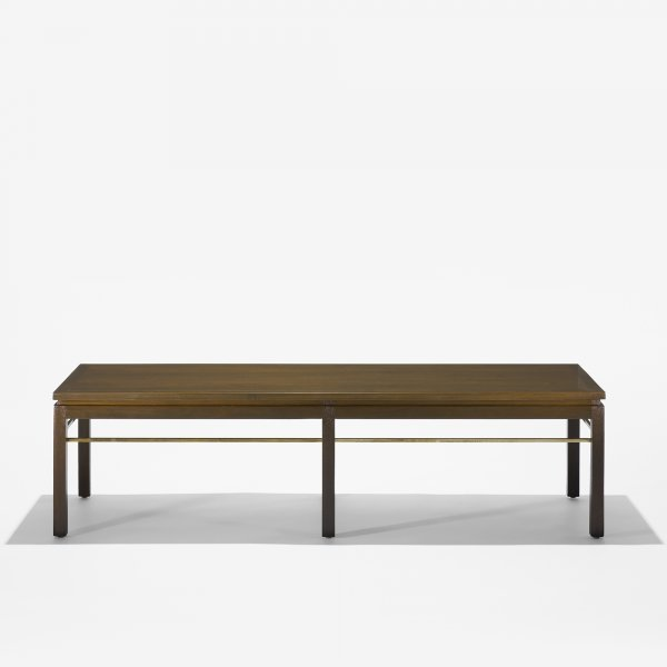 123: Edward Wormley coffee table, model 313