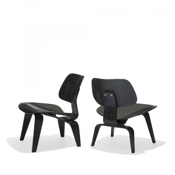 616: Charles and Ray Eames LCWs, pair