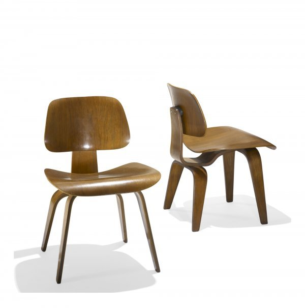 621: Charles and Ray Eames DCWs, pair