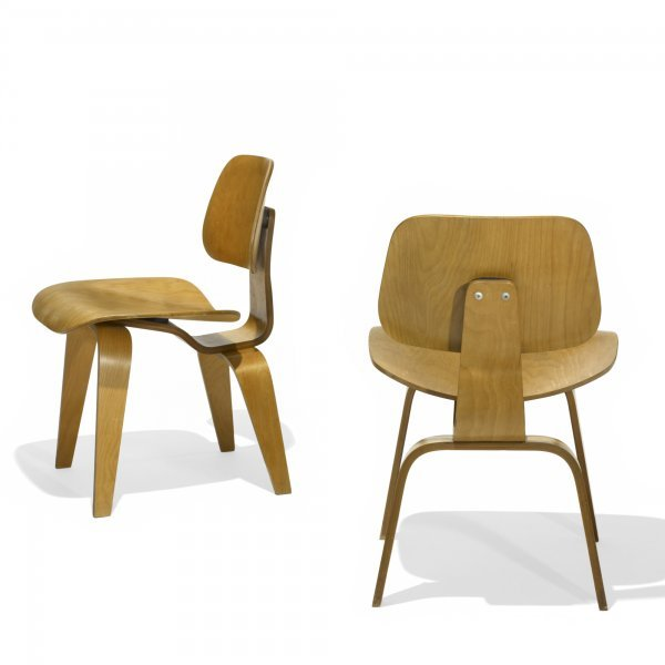 622: Charles and Ray Eames DCWs, pair