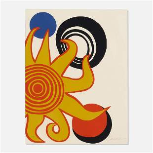 Alexander Calder, Untitled (Sun with Planets)
