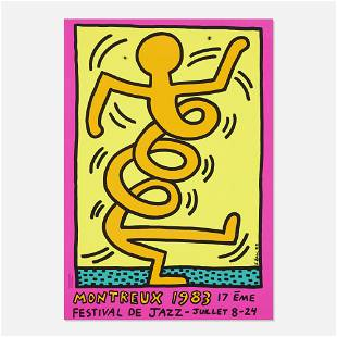 Keith Haring, Montreux Jazz Festival poster
