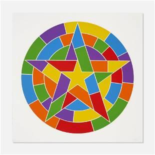Sol LeWitt, Stars, Plate #03