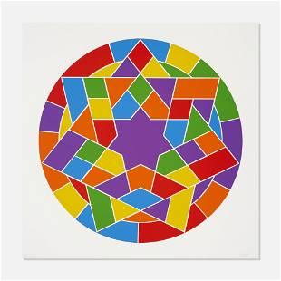 Sol LeWitt, Stars, Plate #05