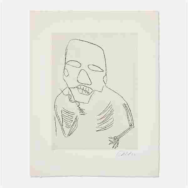 Alexander Calder, Untitled (Santa Claus IV)