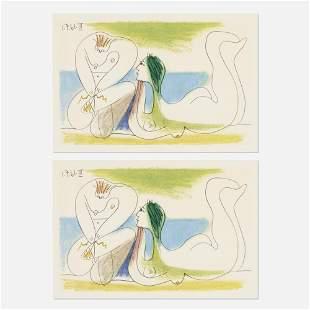 Pablo Picasso, Sur la Plage