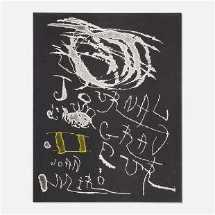 Joan Miro, Untitled (cover from Journal d'un Graveur)