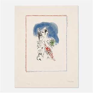 Marc Chagall, Untitled (from the Flight portfolio)