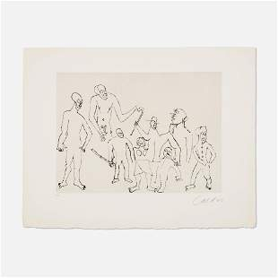 Alexander Calder, Untitled (Santa Claus VI)