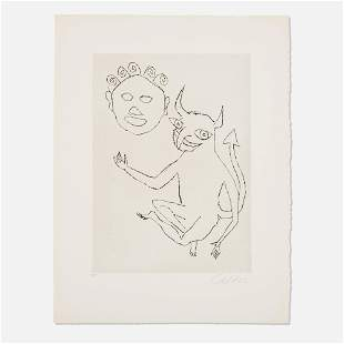 Alexander Calder, Untitled (Santa Claus VIII)