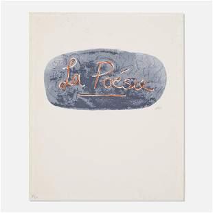 Henry Moore, La Poese