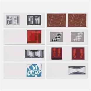 Josef Albers, Eight Folders