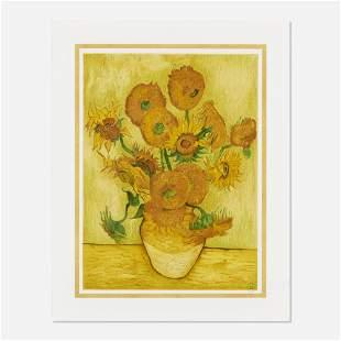 After Vincent Van Gogh, Tournesols