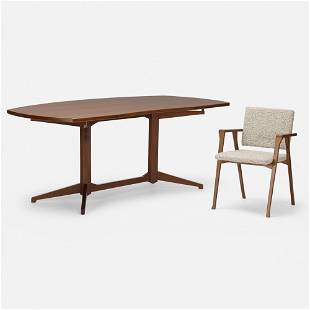 Albini and Helg, Desk and chair