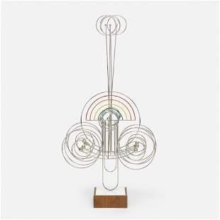 Joseph Burlini, Untitled (Kinetic Sculpture)