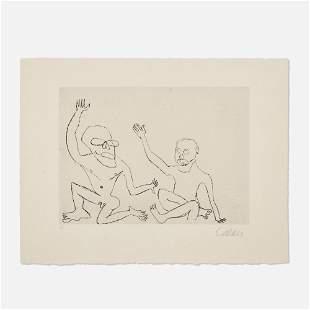 Alexander Calder, Untitled (Santa Claus V)