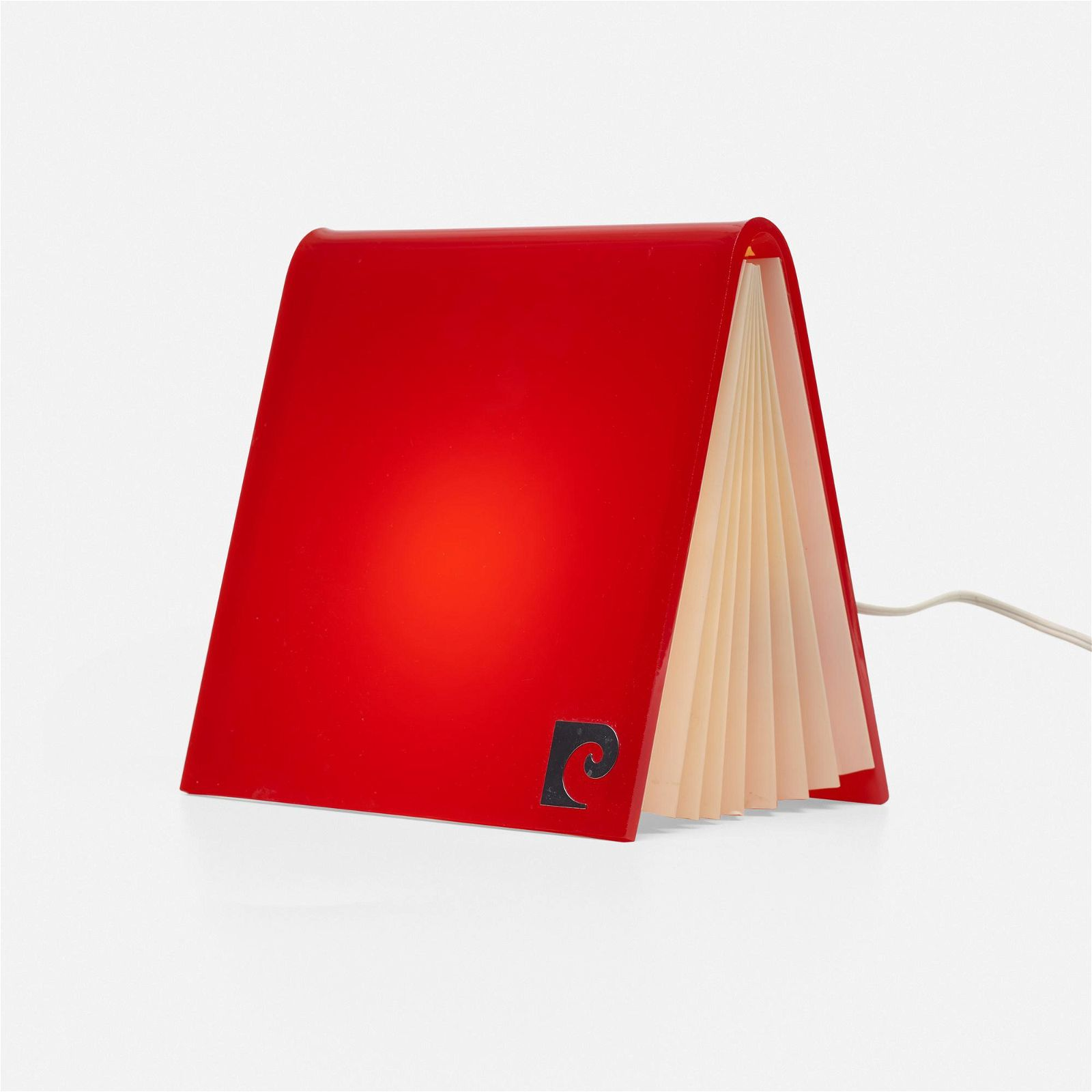Pierre Cardin, Book form table lamp