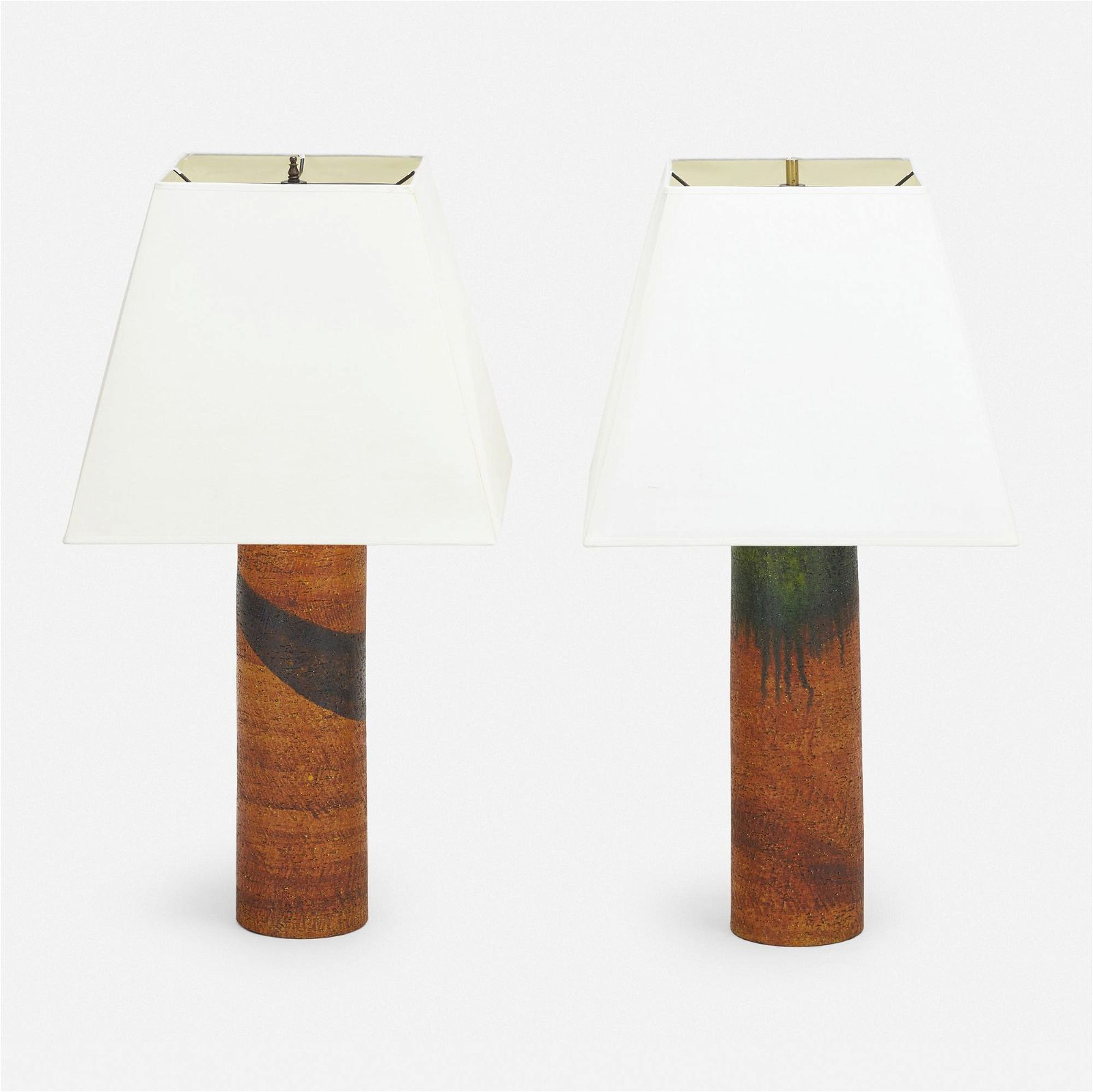 Marcello Fantoni, Table lamps, pair
