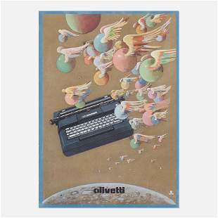 Milton Glaser, Colorful (Olivetti poster)