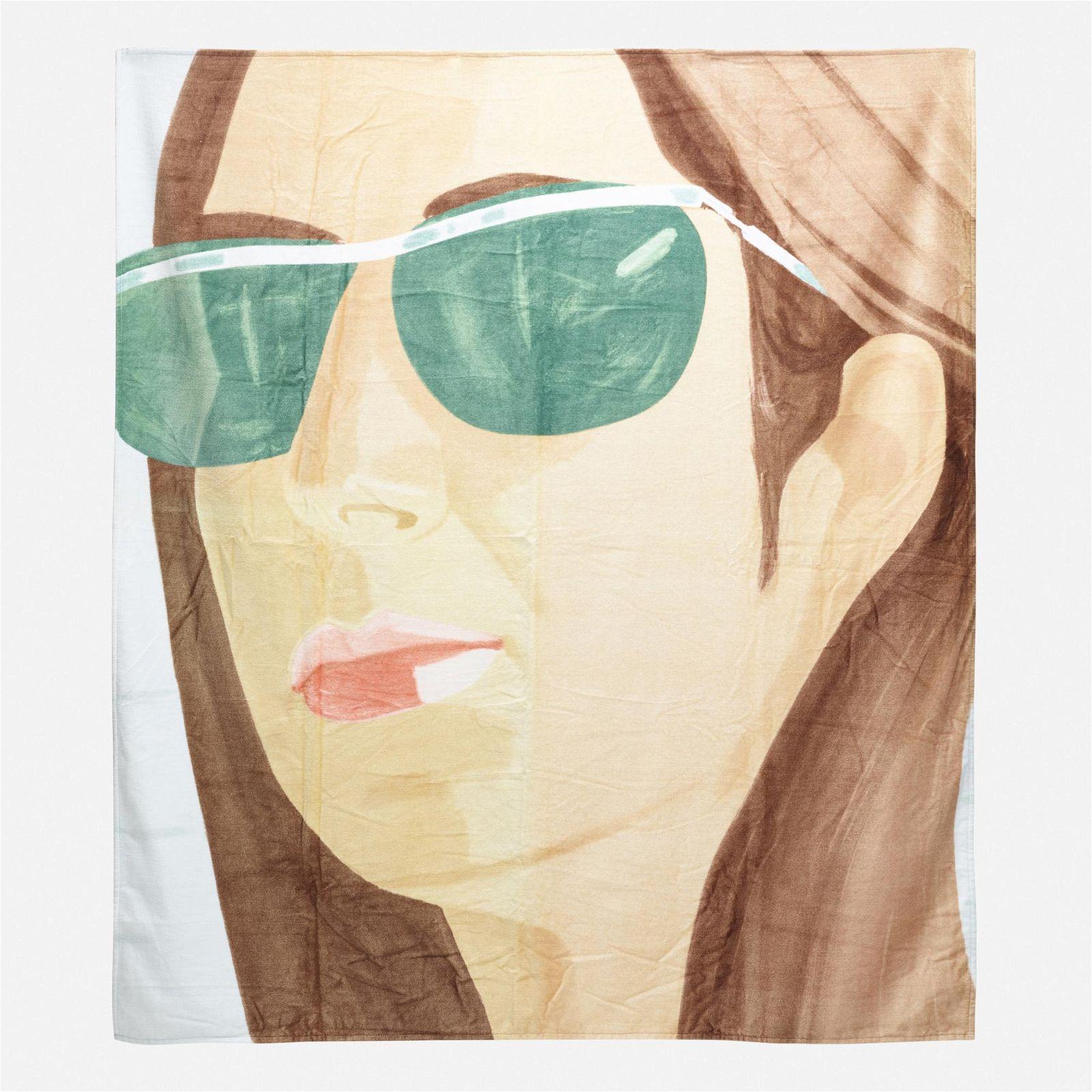 Alex Katz, WOW (Works on Whatever) Project Beach Towel