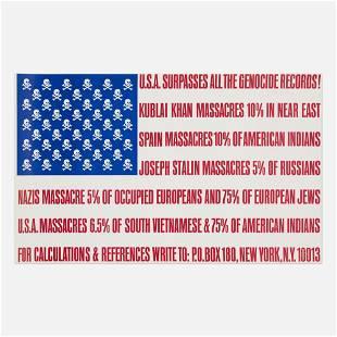 George Maciunas, U.S.A. Surpasses all Genocide Records