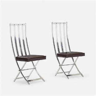 Maison Jansen, Chairs, pair