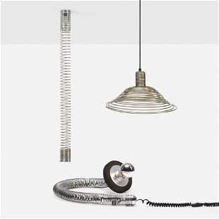 Angelo Mangiarotti, Spiral lamps, set of three